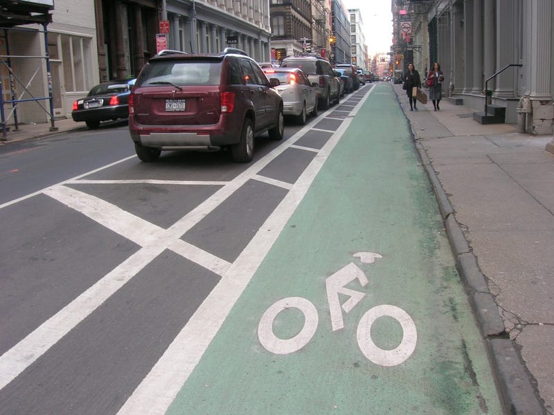 Illustration for article titled Bikestuff: This Is a Bike Lane