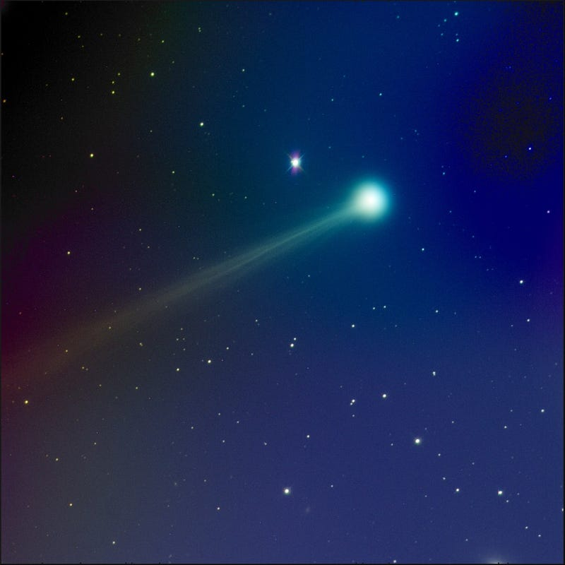 Illustration for article titled Comet ISON Approaches