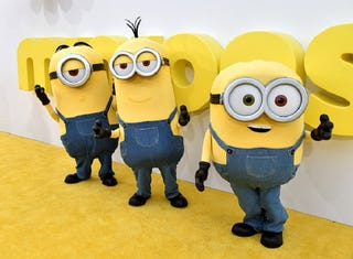 Illustration for article titled Terrible Minions Save Five-Year-Old Girl's Life