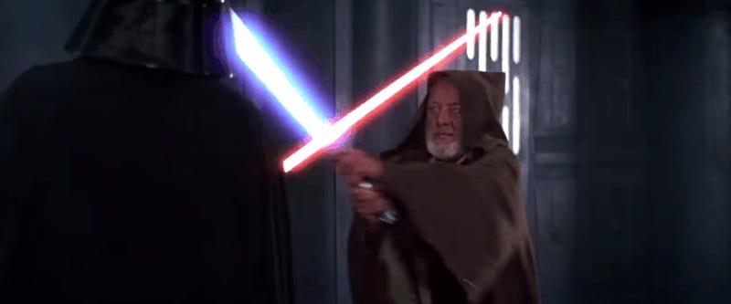Las seis películas de Star Wars, condensadas magistralmente en un vídeo de tres minutos