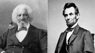 Frederick Douglass; President Abraham LincolnMPI/Getty Images; Getty Images