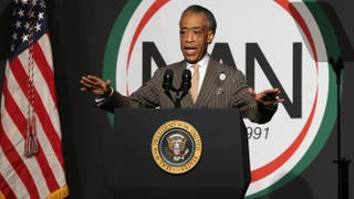 The Rev. Al Sharpton, president of the National Action Network, on April 11, 2014.John Moore/Getty Images