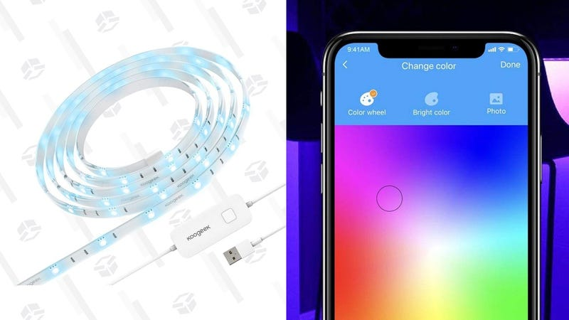 Koogeek Smart LED Strip Light 2M   $29   Amazon   Promo code TCCDYAG5