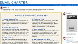 Illustration for article titled Email Charter Lays Out 10 Rules to Save Us All from Drowning in Email