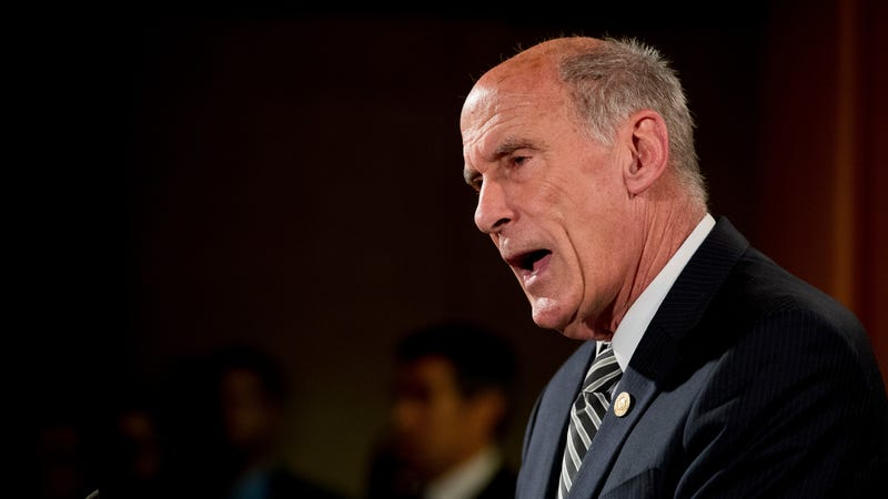 Director of National Intelligence Dan Coats at a news conference  in Washington on Aug. 4, 2017.  (Photo: AP)