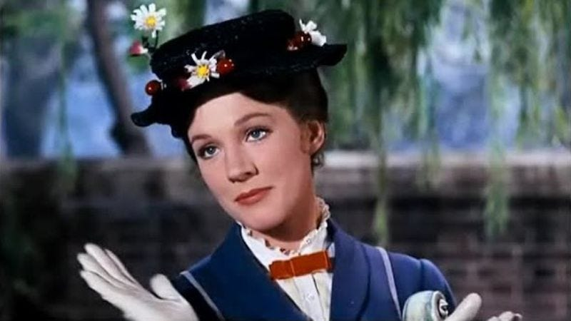 Photo: Julie Andrews, Mary Poppins (Disney)