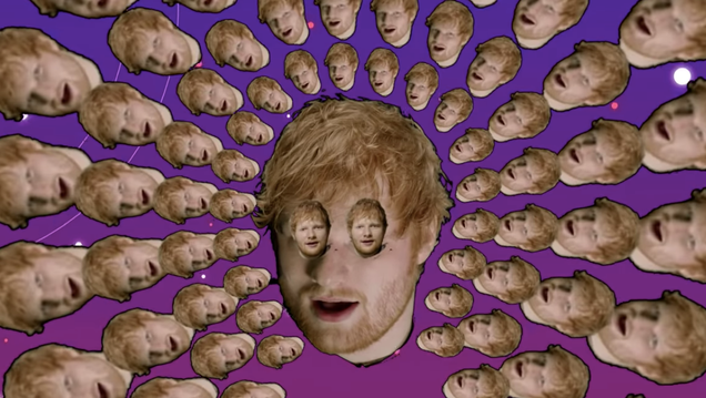 Cool, Justin Bieber and Ed Sheeran discovered vaporwave