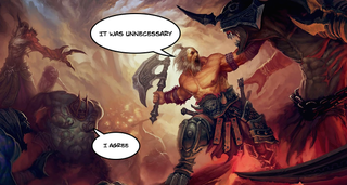 Illustration for article titled In The End, Diablo III Just Shouldn't Have Been 'Always Online'