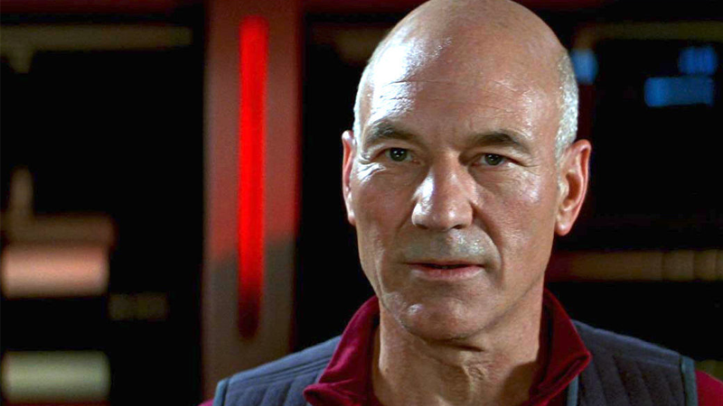Jean-Luc has a new man in charge.