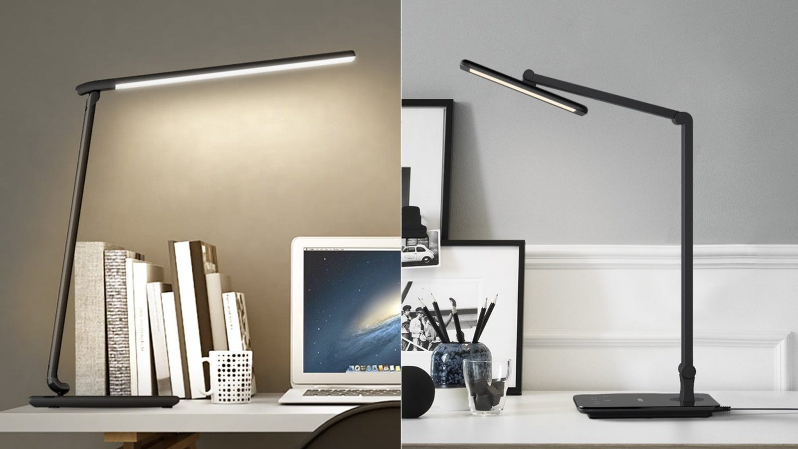 Take Your Pick Of Two Led Desk Lamps With Usb Charging Ports