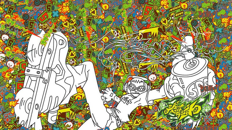 Illustration for article titled Jet Set Radio Sure Loved Its Graffiti