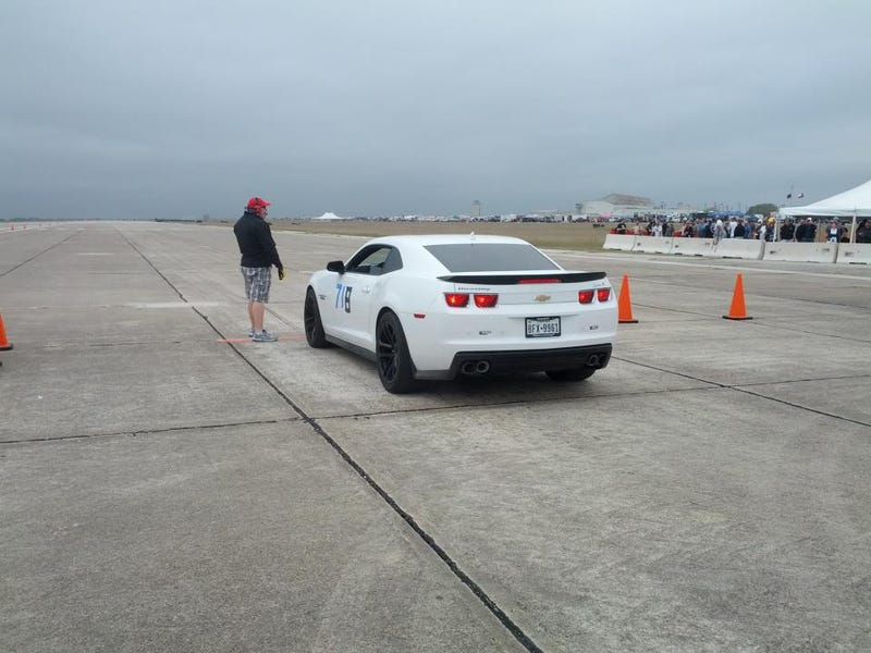 Illustration for article titled Hennessey ZL1 just ran 186mph @ Texas Mile