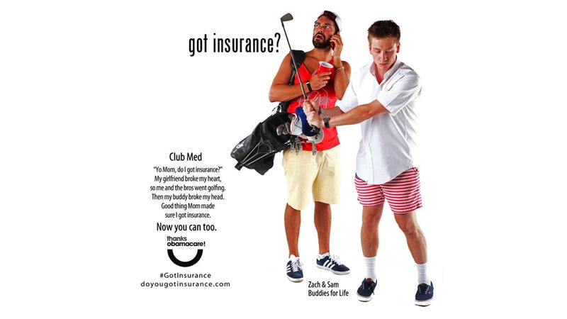 Illustration for article titled Bro-Tastic Colorado Health Insurance Ads Offer Brosurance