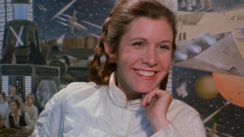 Illustration for article titled El conmovedor tributo en vídeo a Carrie Fisher de la Star Wars Celebrationte sacará una lágrima