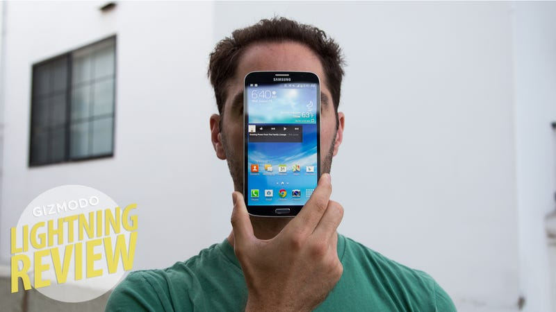 Illustration for article titled Samsung Galaxy Mega Review: A Big Phone, a Small Tablet, a Bad Buy