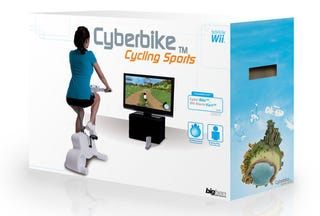 Illustration for article titled Wii Exercise Bike Would Be Perfect For Paperboy