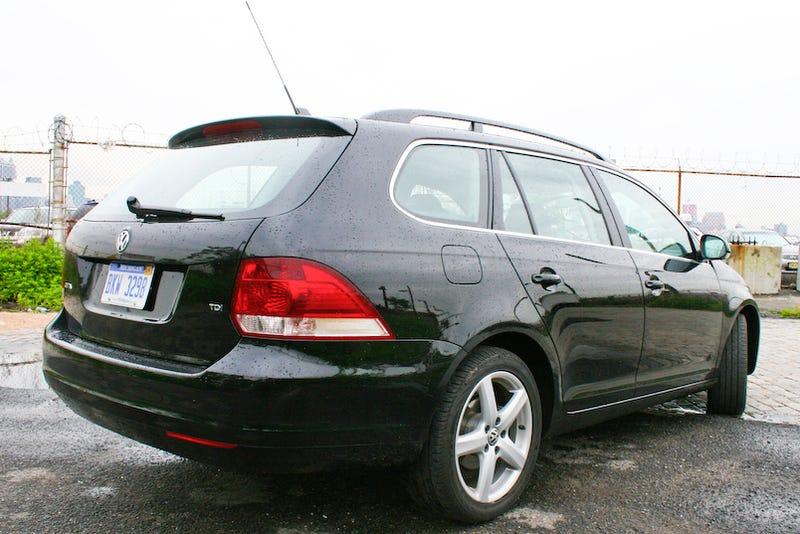 2009 VW Jetta SportWagen TDI Part Three