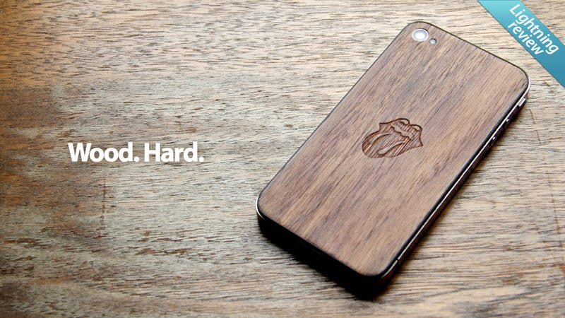 Illustration for article titled All iPhone 4s Should Have Handmade Wood JackBacks