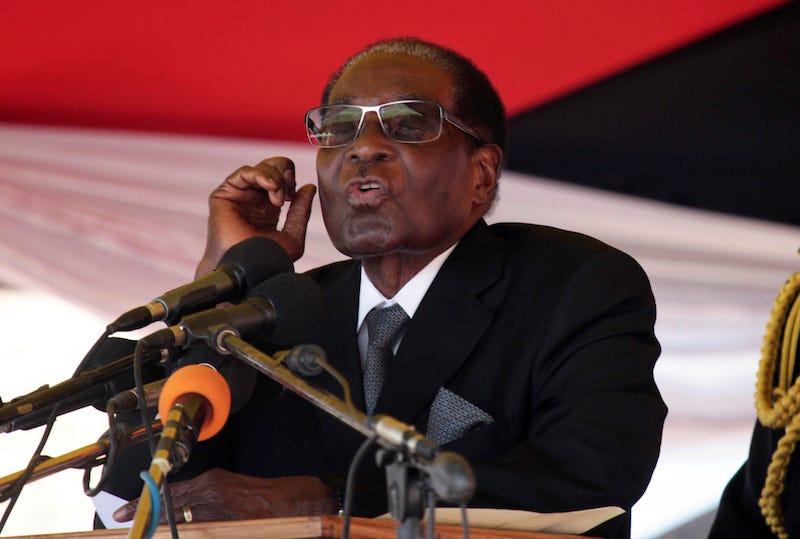 El presidente de Zibabue Robert Mugabe. Imagen: AP