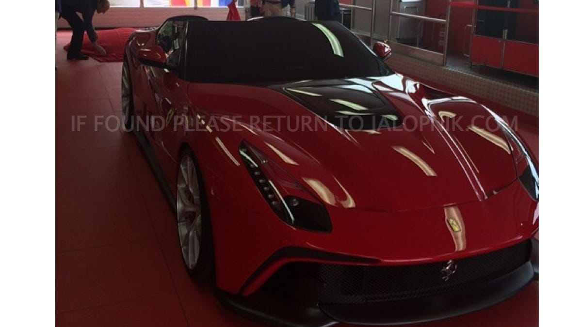 This Is The 4 2 Million Gorgeous One Off Ferrari F12 Trs
