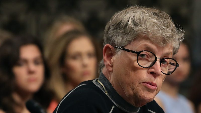 Illustration for article titled Lou Anna Simon Is Finally Leaving Michigan State