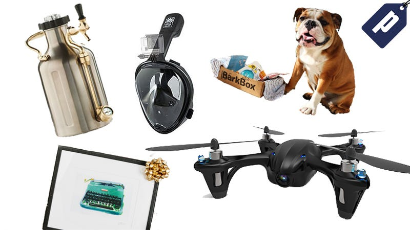 Illustration for article titled Save On 7 Splurge-Worthy Gifts: Custom-Framing, Mini-Kegs, Drones & More