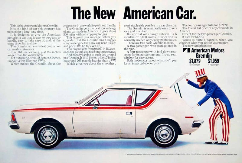 Illustration for article titled Uncle Sam Wanted You To Buy A Gremlin.