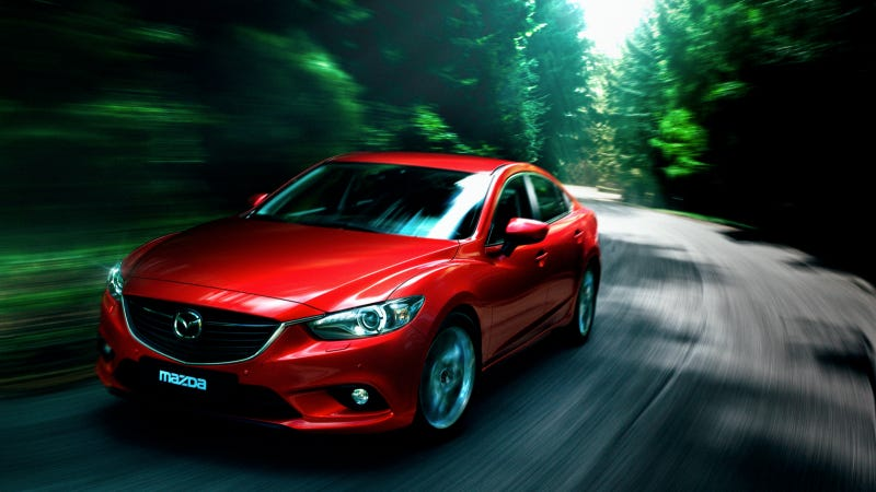 Illustration for article titled 2014 Mazda6: First Photos