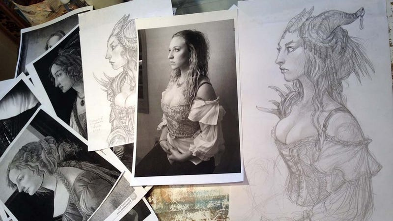 Illustration for article titled Inside The Fantasy Art Of Superstar Artist Tony DiTerlizzi