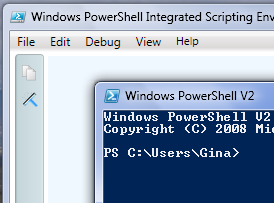 Illustration for article titled PowerShell Comes with Windows 7