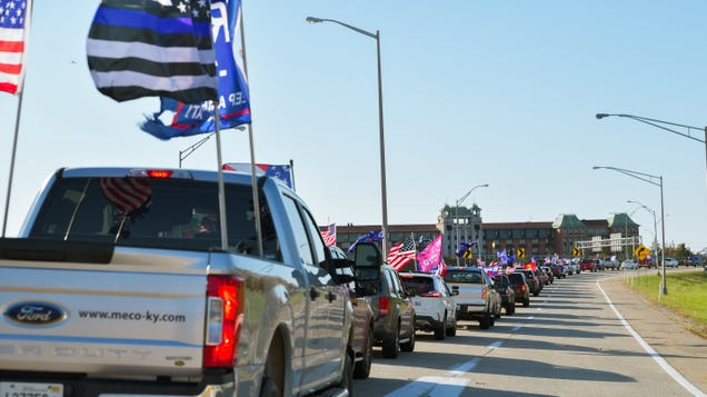 The  Petro-Masculinity  of This Weekend s Trump Highway Rallies