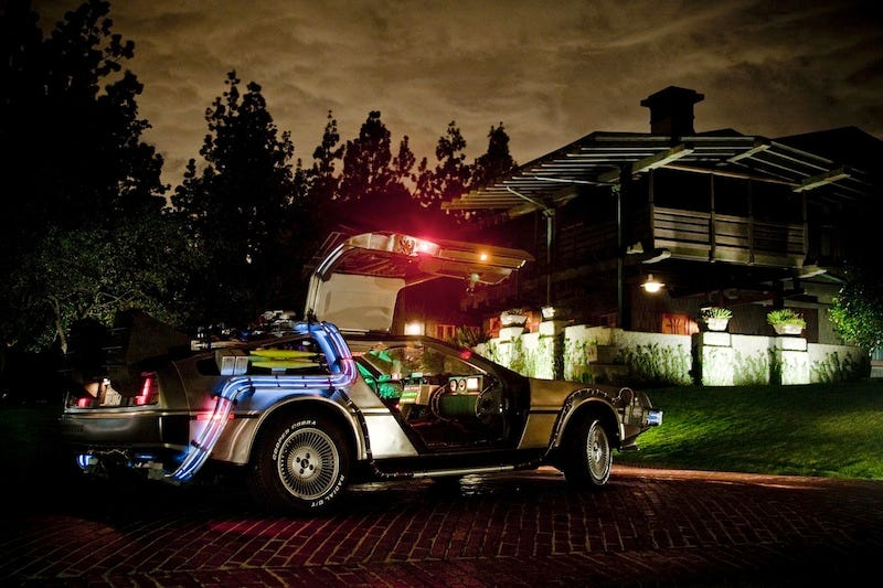 Illustration for article titled Most Realistic Back To The Future DeLorean Ever Hits eBay