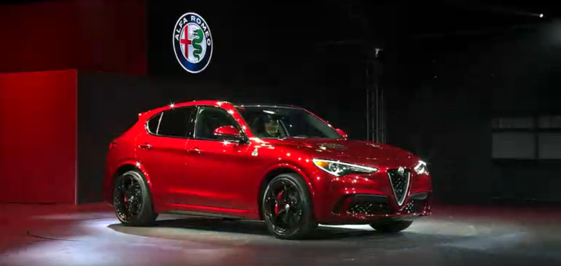 Illustration for article titled The 2018 Alfa Romeo Stelvio Is A 510 Horsepower Crossover Bringer Of The Apocalypse