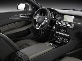 Illustration for article titled 2012 Mercedes CLS: Interior Photos