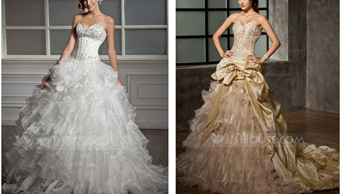 The search for the ugliest wedding dress ever created ombrellifo Images
