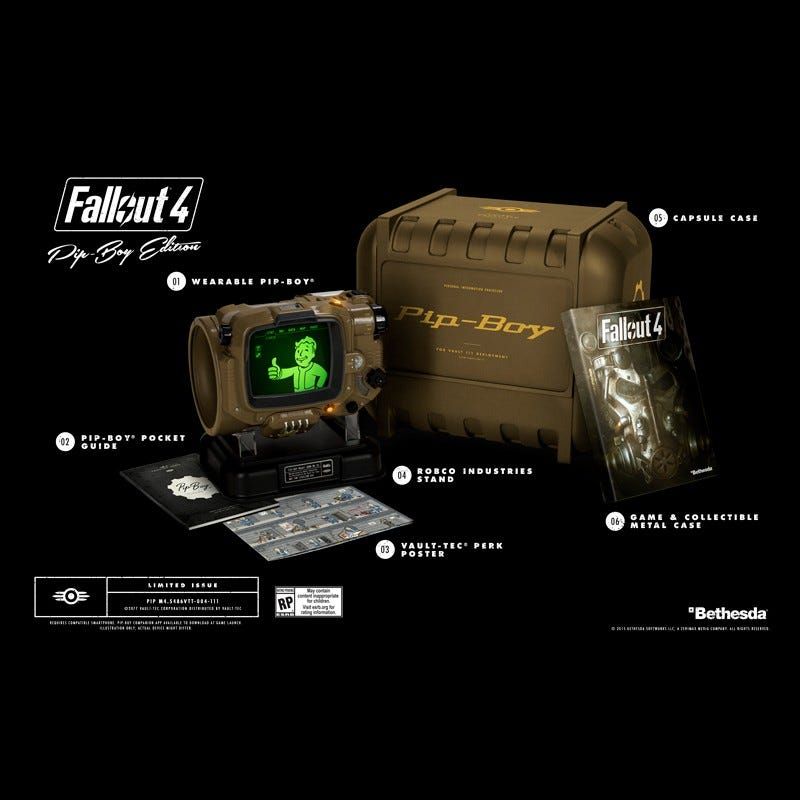 Illustration for article titled Updated: Another Chance for Fallout 4 Pipboy Edition (PS4/Xbox1/PC) - Sold Out