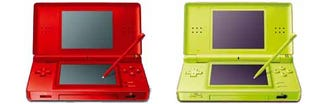 Illustration for article titled New DS Lite Colors Look Like Watermelon and Green Apple Jolly Ranchers