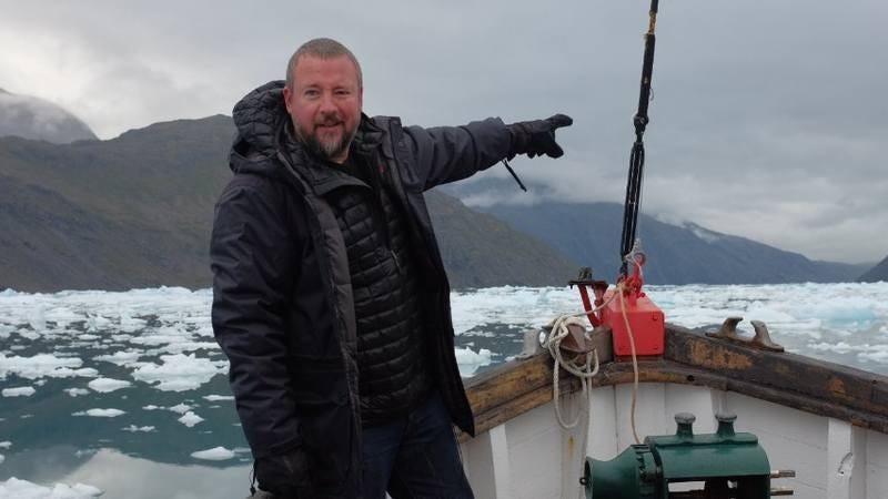 Vice's Shane Smith in Greenland