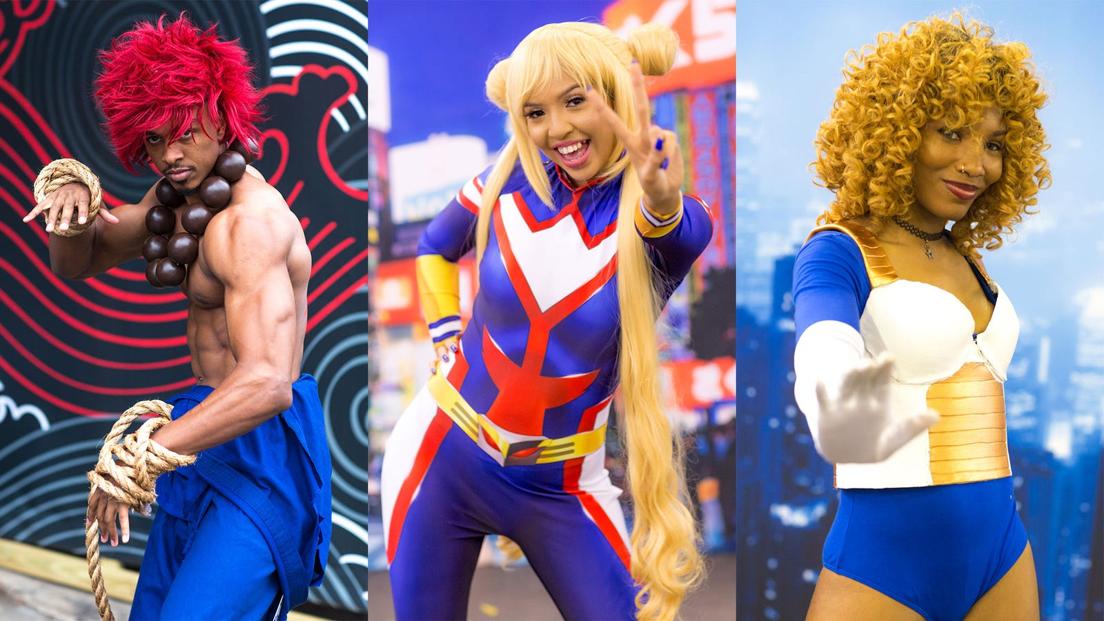 Our Favorite Cosplay From Anime Fest NYCC X Expo 2018