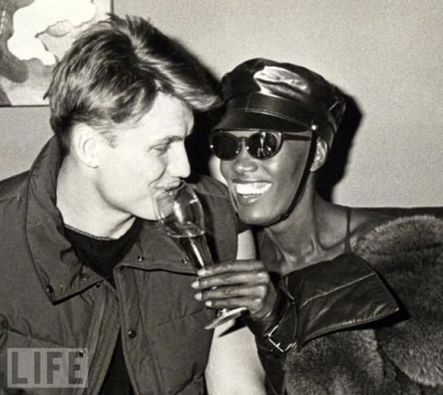 Throwback Thursday: Dolph Lundgren and Grace Jones