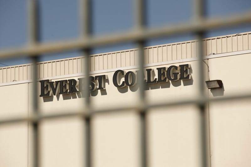 Everest College, a for-profit college owned by now-defunct Corinthian Colleges, in 2015.