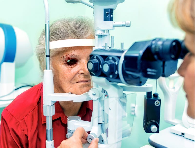 Illustration for article titled Optometrist Sets Pressure Of Air Puff Test Way Higher For Asshole Patients