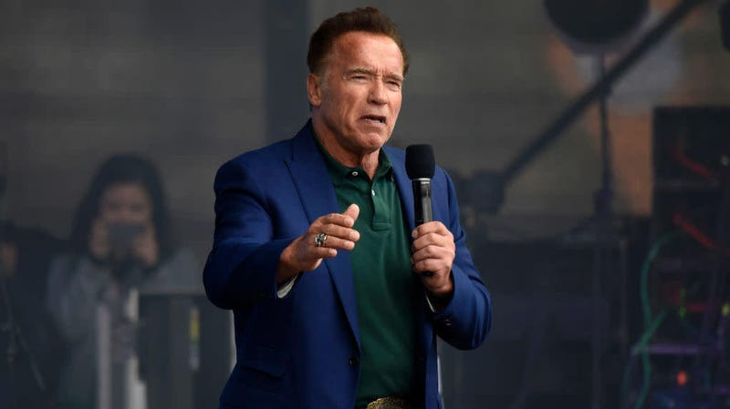 Illustration for article titled Today, friends, is the day you get to hear Arnold Schwarzenegger rap