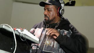 Afrika Bambaataa performs during the 2015 Guggenheim Young Collectors party at the Guggenheim Museum on March 19, 2015, in New York City.Cindy Ord/Getty Images
