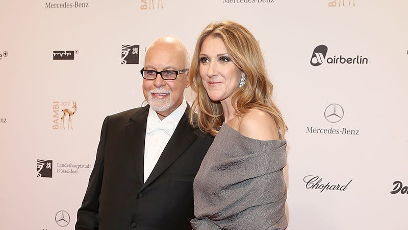 Illustration for article titled Celine Dion's HusbandRené AngélilHas Died After a Years-Long Fight Against Cancer