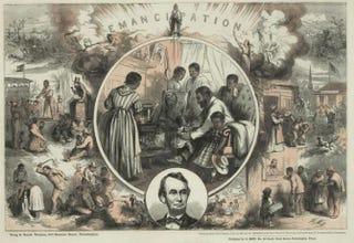 Engraving by Thomas Nast, circa 1865Library of Congress
