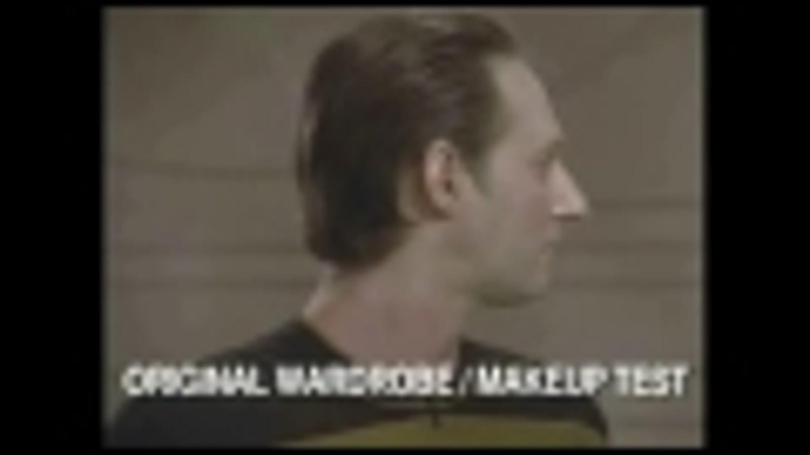 7 minutes of super-creepy Star Trek: TNG test footage