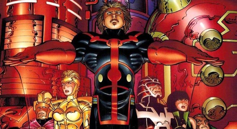 Illustration for article titled Primeras imágenes de The Eternals, la próxima película de Marvel que se rueda en España