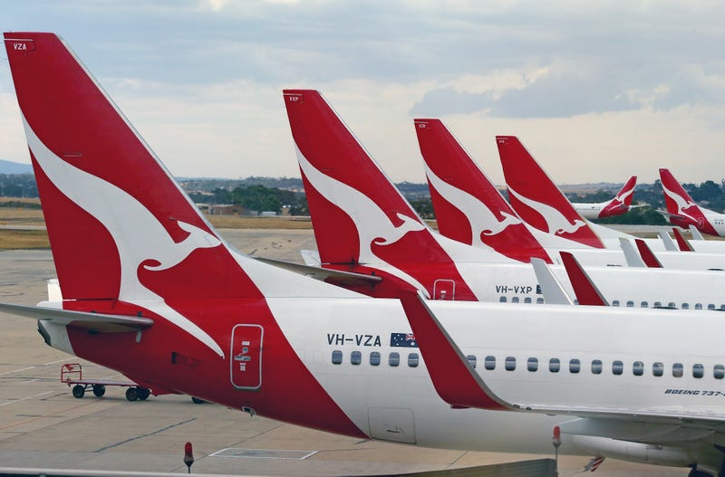 File photo of Qantas Airlines flights (Photo by Scott Barbour/Getty Images)