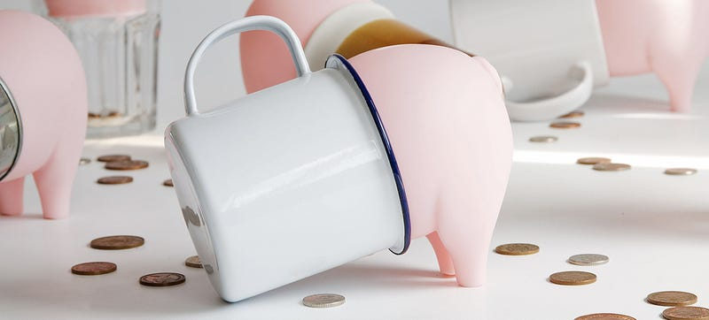 Illustration for article titled Rubber Swine Turns Anything Smashable Into a Piggy Bank